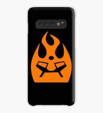 Lava Strike Force Emblem - Orange Case/Skin for Samsung Galaxy