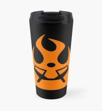 Lava Strike Force Emblem - Orange Travel Mug