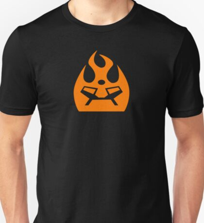 Lava Strike Force Emblem - Orange T-Shirt