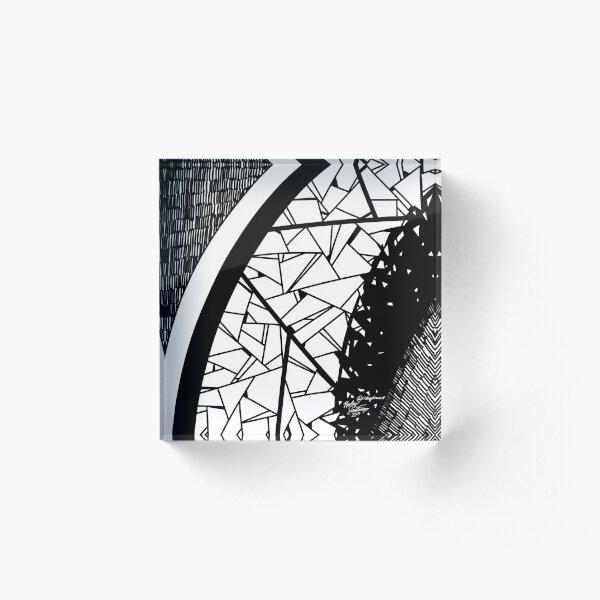 Abstract 7 Acrylic Block