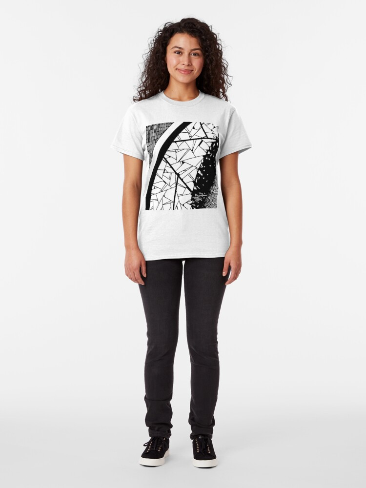Alternate view of Abstract 7 Classic T-Shirt