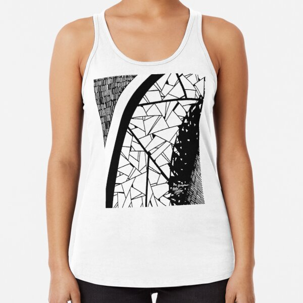 Abstract 7 Racerback Tank Top