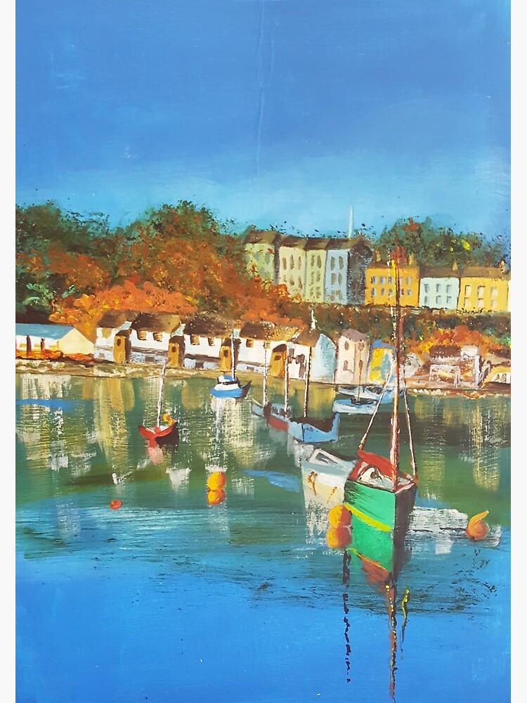 Gert Lush View Of Bristol Harbour by GertLushDesigns
