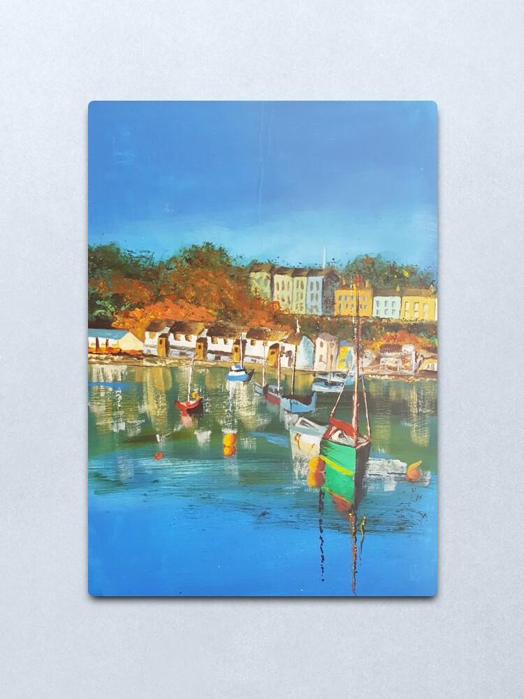 Alternate view of Gert Lush View Of Bristol Harbour Metal Print