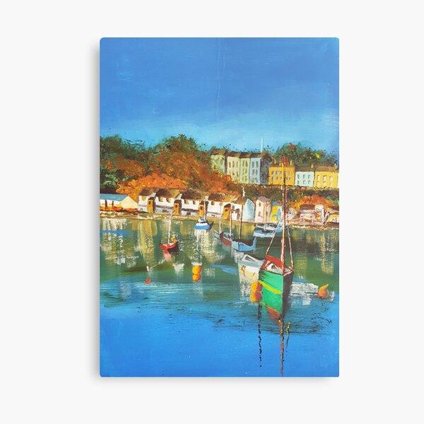 Gert Lush View Of Bristol Harbour Canvas Print