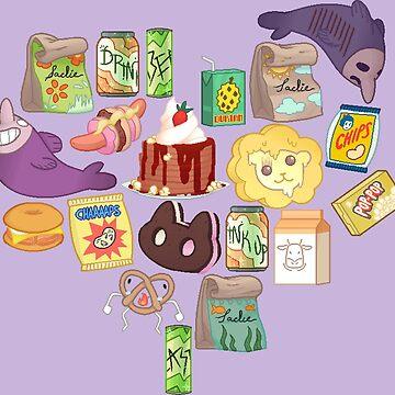 SU pixel food by StickyHunter
