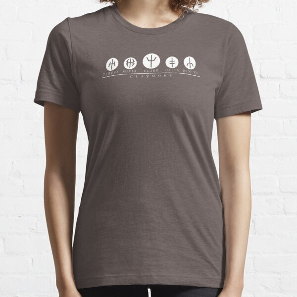 Claymore Character Symbols Essential T-Shirt