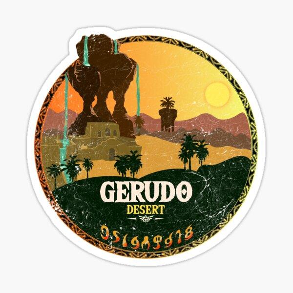Gerudo Desert Washed & Worn Sticker