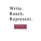 Write. Reach. Represent. by Douglas E.  Welch