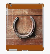 Horse Shoes bring Good Luck iPad Case/Skin