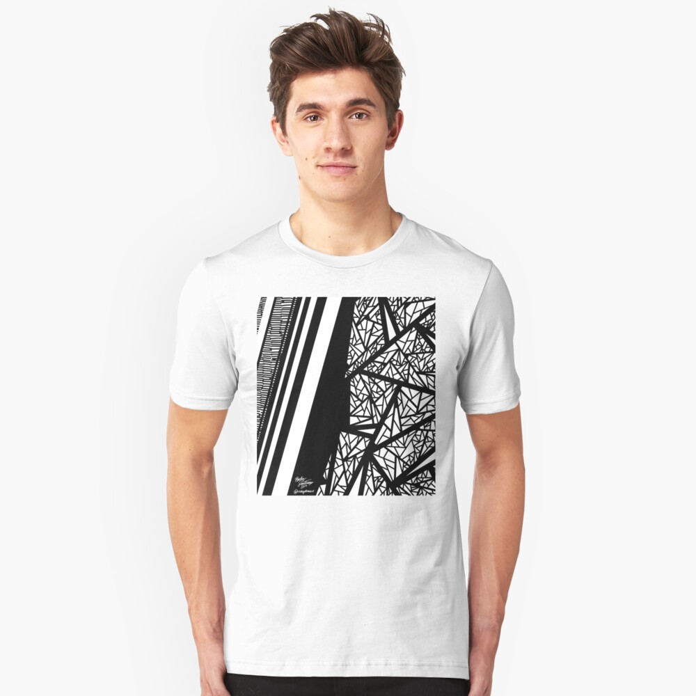 Abstract 10 Slim Fit T-Shirt