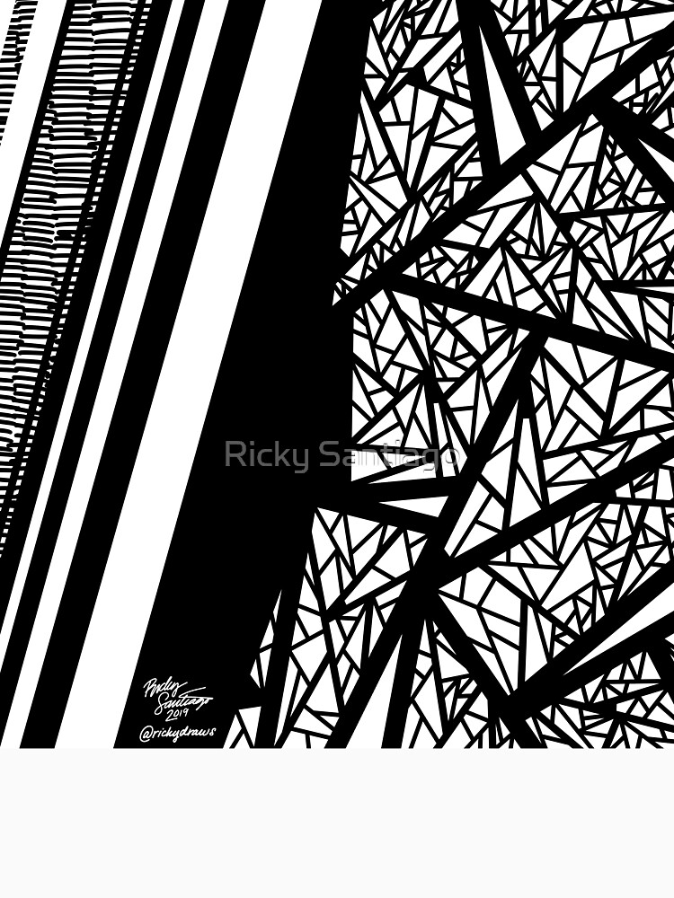 Abstract 10 by rickysantiago