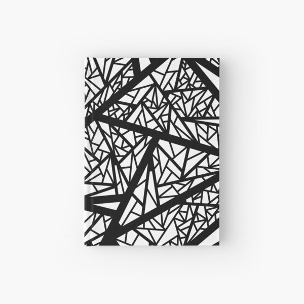 Abstract 10 Hardcover Journal
