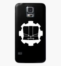 Heroic Gearo Emblem - White Case/Skin for Samsung Galaxy