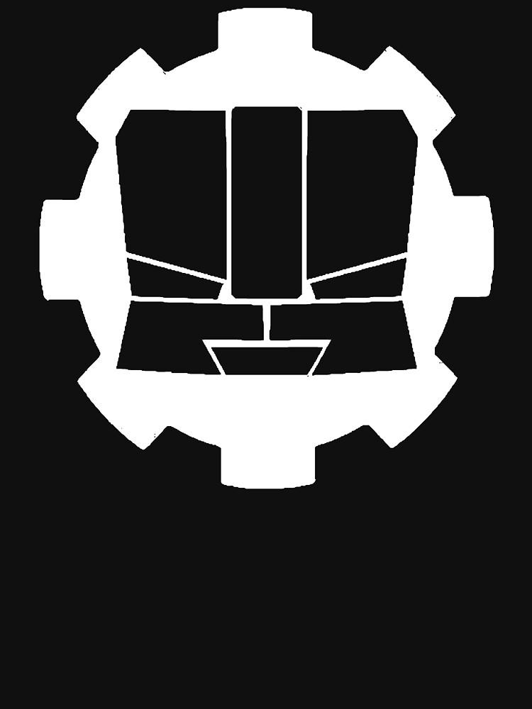 Heroic Gearo Emblem - White by spymonkey
