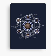 Remedial Chaos Theory Timeline Design Canvas Print