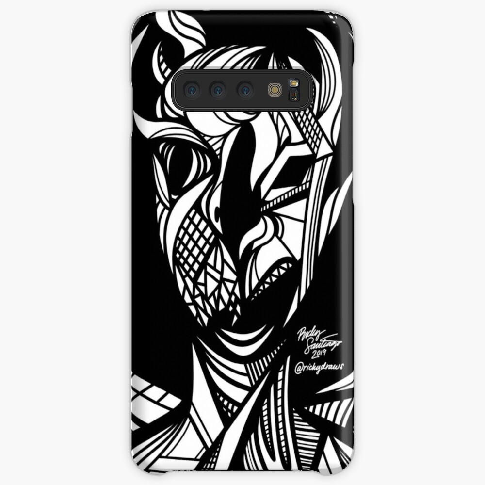 Abstract Portrait 5 Case & Skin for Samsung Galaxy