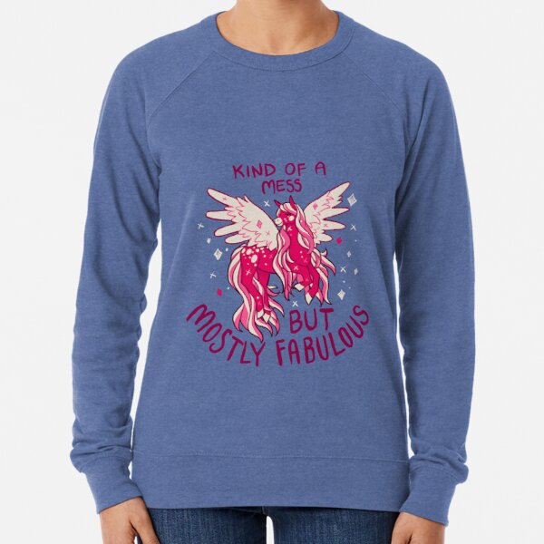 """KIND OF A MESS"" Pegasus Lightweight Sweatshirt"