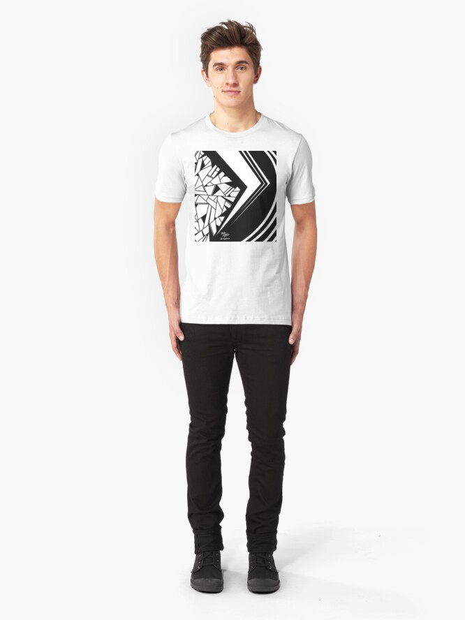 Alternate view of Abstract 13 Slim Fit T-Shirt