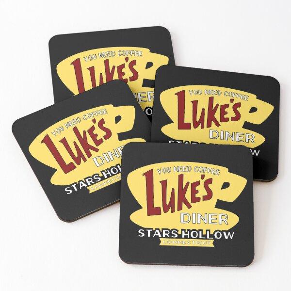 Luke's Diner 2 Coasters (Set of 4)