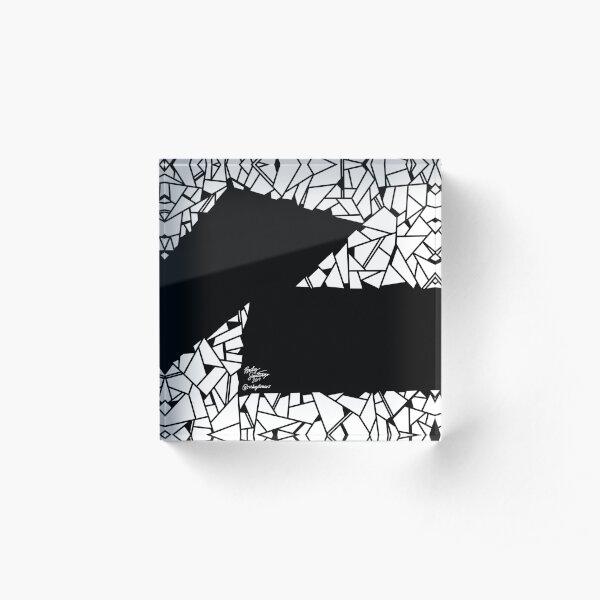 Abstract 14 Acrylic Block