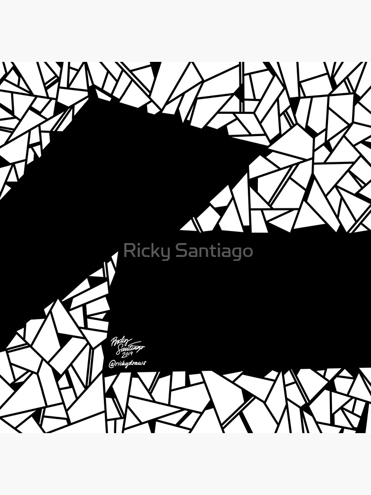 Abstract 14 by rickysantiago