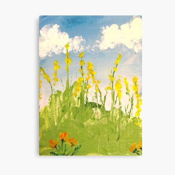 meadow memoir Canvas Print
