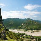 Mtskheta monastery  by Gouzelka
