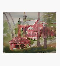 Ursuline Cathedral in Shadow Photographic Print