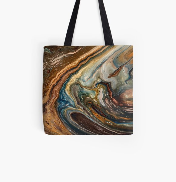Distant Shores All Over Print Tote Bag
