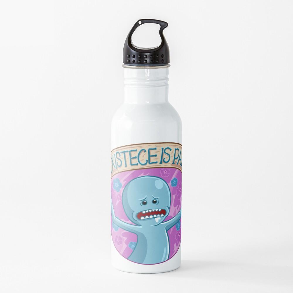 Existence is Pain mr meeseeks Water Bottle