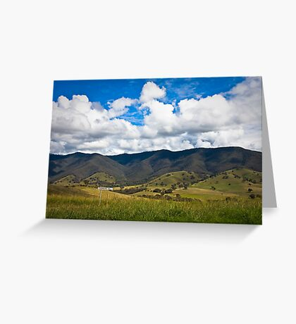 CONNERS HILL VICTORIA Greeting Card