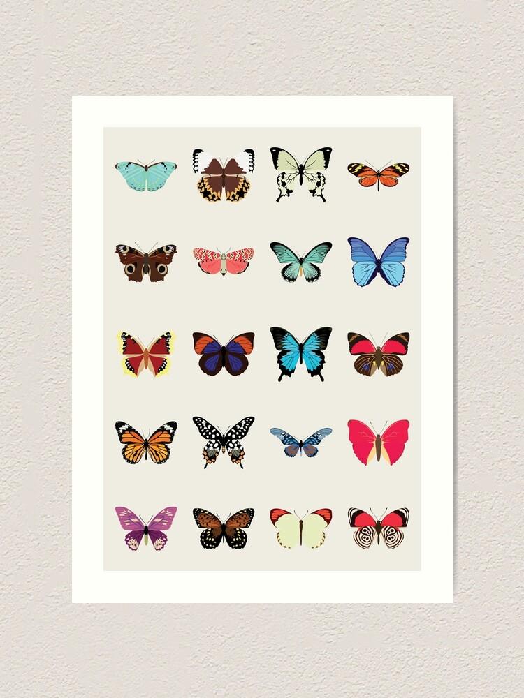 Alternate view of Butterflies Art Print