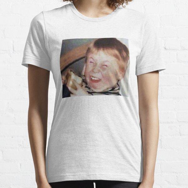 Funny Face Kid Meme Essential T-Shirt
