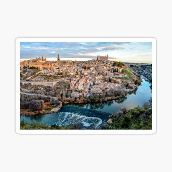 Toledo Spain Sticker