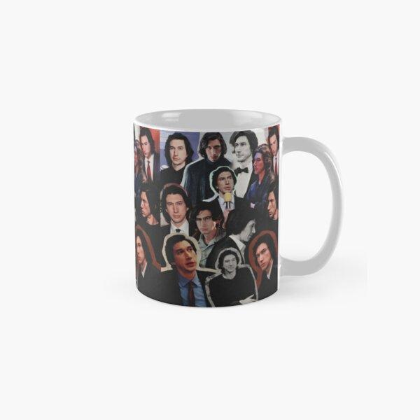 Adam Driver 2019 Collage Mug classique