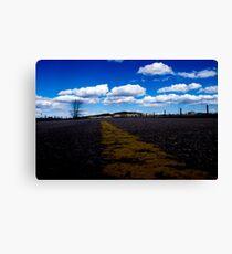 Winding Road - South Dakota. Canvas Print