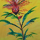Bursting Flower by James Bryron Love