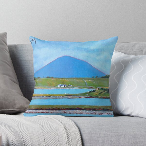 Clew Bay, Nephin - Mayo Throw Pillow