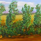 Summer Fields and Trees by Melissa Pinner
