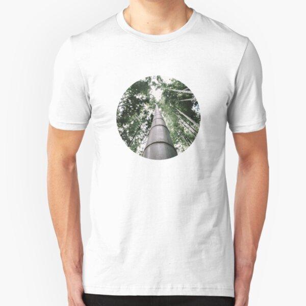 Round Bamboo Slim Fit T-Shirt