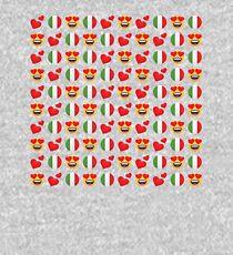 Love Italian Emoji JoyPixels Travel to Italy Kids Pullover Hoodie