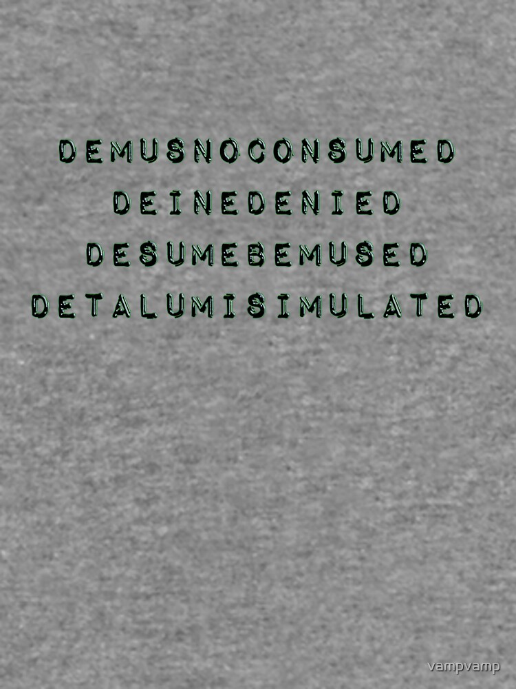 consumed - tee by vampvamp
