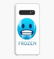 Frozen, Cold-Face emoji Case/Skin for Samsung Galaxy