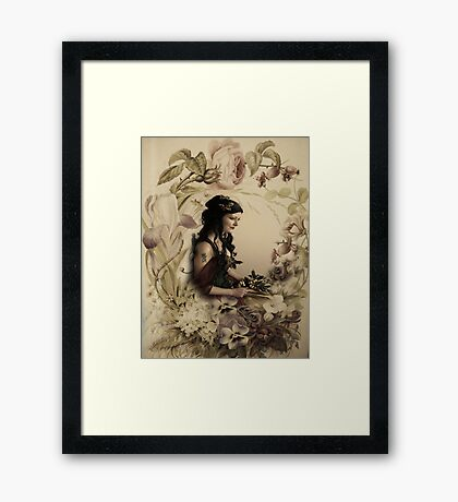 The Beauty of Flowers! Framed Print