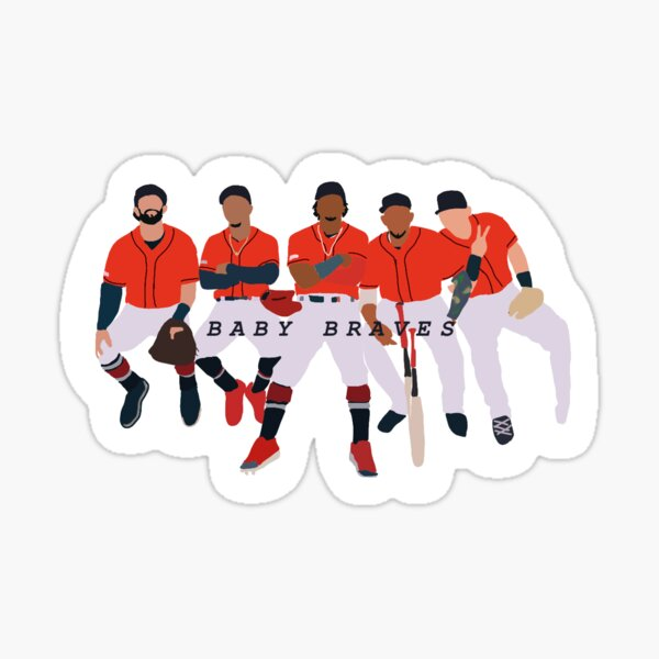 Baby Braves Sticker