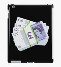 British Pounds Emoji JoyPixels Cash Money iPad Case/Skin
