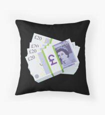 British Pounds Emoji JoyPixels Cash Money Floor Pillow