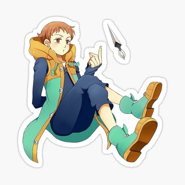 King from The Seven Deadly Sins Sticker