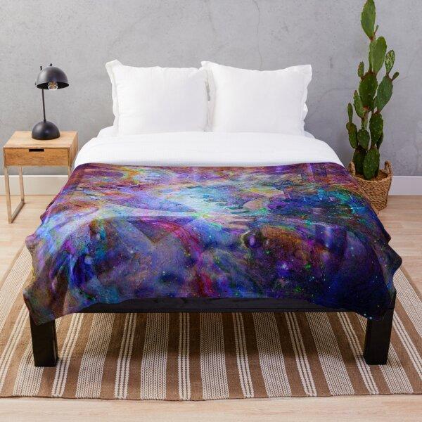 Clockwork Universe 4 Throw Blanket